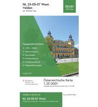 Wanderkarten Kärnten BEV-Karte 4107-West, Velden am Wörthersee 1:25.000 BEV – Bundesamt für Eich- und Vermessungswesen