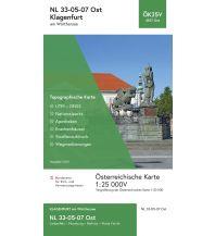 Wanderkarten Kärnten BEV-Karte 4107-Ost, Klagenfurt am Wörthersee 1:25.000 BEV – Bundesamt für Eich- und Vermessungswesen