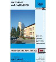 Wanderkarten Österreich BEV-Karte 4303, Alt-Nagelberg 1:50.000 BEV – Bundesamt für Eich- und Vermessungswesen