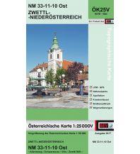 Wanderkarten Niederösterreich BEV-Karte 4310-Ost, Zwettl - Niederösterreich 1:25.000 BEV – Bundesamt für Eich- und Vermessungswesen