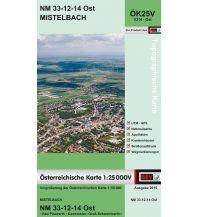 Wanderkarten Niederösterreich BEV-Karte 5314-Ost, Mistelbach 1:25.000 BEV – Bundesamt für Eich- und Vermessungswesen
