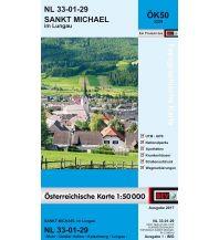 Wanderkarten Salzburg BEV-Karte 3229, Sankt Michael im Lungau 1:50.000 BEV – Bundesamt für Eich- und Vermessungswesen