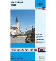 Wanderkarten Niederösterreich BEV-Karte 4311, Horn 1:50.000 BEV – Bundesamt für Eich- und Vermessungswesen