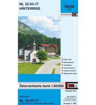 Wanderkarten Tirol BEV-Karte 2217, Hinterriß 1:50.000 BEV – Bundesamt für Eich- und Vermessungswesen