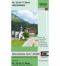 Wanderkarten Tirol BEV-Karte 2217-West, Hinterriß 1:25.000 BEV – Bundesamt für Eich- und Vermessungswesen