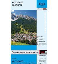 Wanderkarten Südtirol & Dolomiten BEV-Karte 3107, Innichen 1:50.000 BEV – Bundesamt für Eich- und Vermessungswesen