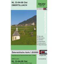 Wanderkarten Tirol BEV-Karte 3108-Ost, Obertilliach 1:25.000 BEV – Bundesamt für Eich- und Vermessungswesen