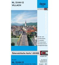 Wanderkarten Kärnten BEV-Karte 3112, Villach 1:50.000 BEV – Bundesamt für Eich- und Vermessungswesen