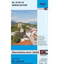 Wanderkarten Kärnten BEV-Karte 3118, Arnoldstein 1:50.000 BEV – Bundesamt für Eich- und Vermessungswesen