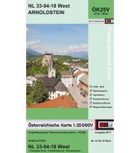 Wanderkarten Kärnten BEV-Karte 3118-West, Arnoldstein 1:25.000 BEV – Bundesamt für Eich- und Vermessungswesen