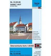 Wanderkarten Kärnten BEV-Karte 4108, Sankt Veit an der Glan 1:50.000 BEV – Bundesamt für Eich- und Vermessungswesen