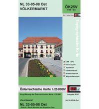 Wanderkarten Kärnten BEV-Karte 4108-Ost, Völkermarkt 1:25.000 BEV – Bundesamt für Eich- und Vermessungswesen