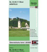 Wanderkarten Steiermark BEV-Karte 4111-West, Arnfels 1:25.000 BEV – Bundesamt für Eich- und Vermessungswesen