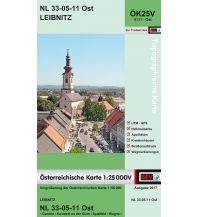 Wanderkarten Steiermark BEV-Karte 4111-Ost, Leibnitz 1:25.000 BEV – Bundesamt für Eich- und Vermessungswesen