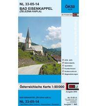Wanderkarten Kärnten BEV-Karte 4114, Bad Eisenkappel/Železna Kapla 1:50.000 BEV – Bundesamt für Eich- und Vermessungswesen