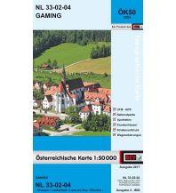 Wanderkarten BEV-Karte 4204, Gaming 1:50.000 BEV – Bundesamt für Eich- und Vermessungswesen