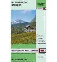Wanderkarten Niederösterreich BEV-Karte 4204-Ost, Ötscher 1:25.000 BEV – Bundesamt für Eich- und Vermessungswesen