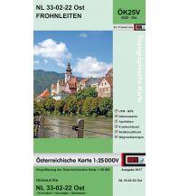Wanderkarten Steiermark BEV-Karte 4222-Ost, Frohnleiten 1:25.000 BEV – Bundesamt für Eich- und Vermessungswesen