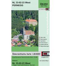 Wanderkarten Steiermark BEV-Karte 4223-West, Pernegg 1:25.000 BEV – Bundesamt für Eich- und Vermessungswesen