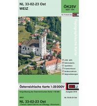 Wanderkarten Steiermark BEV-Karte 4223-Ost, Weiz 1:25.000 BEV – Bundesamt für Eich- und Vermessungswesen