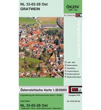 Wanderkarten Steiermark BEV-Karte 4228-Ost, Gratwein 1:25.000 BEV – Bundesamt für Eich- und Vermessungswesen