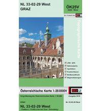 Wanderkarten Steiermark BEV-Karte 4229-West, Graz 1:25.000 BEV – Bundesamt für Eich- und Vermessungswesen