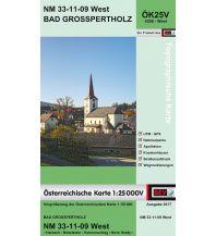 Wanderkarten Niederösterreich BEV-Karte 4309-West, Bad Großpertholz 1:25.000 BEV – Bundesamt für Eich- und Vermessungswesen
