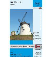 Wanderkarten Niederösterreich BEV-Karte 4312, Retz 1:50.000 BEV – Bundesamt für Eich- und Vermessungswesen