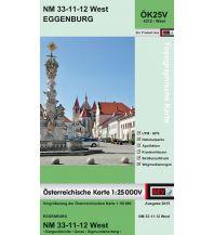Wanderkarten Niederösterreich BEV-Karte 4312-West, Eggenburg 1:25.000 BEV – Bundesamt für Eich- und Vermessungswesen