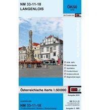 Wanderkarten Niederösterreich BEV-Karte 4318, Langenlois 1:50.000 BEV – Bundesamt für Eich- und Vermessungswesen