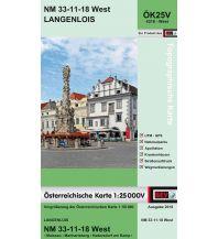 Wanderkarten Niederösterreich BEV-Karte 4318-West, Langenlois 1:25.000 BEV – Bundesamt für Eich- und Vermessungswesen