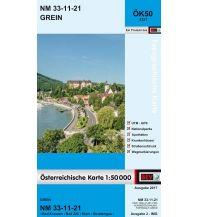 Wanderkarten Oberösterreich BEV-Karte 4321, Grein 1:50.000 BEV – Bundesamt für Eich- und Vermessungswesen