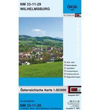 Wanderkarten Niederösterreich BEV-Karte 4329, Wilhelmsburg 1:50.000 BEV – Bundesamt für Eich- und Vermessungswesen