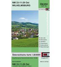 Wanderkarten Niederösterreich BEV-Karte 4329-Ost, Wilhelmsburg 1:25.000 BEV – Bundesamt für Eich- und Vermessungswesen