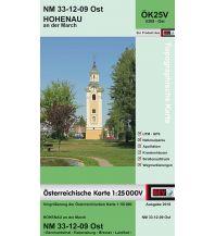 Wanderkarten Niederösterreich BEV-Karte 5309-Ost, Hohenau an der March 1:25.000 BEV – Bundesamt für Eich- und Vermessungswesen