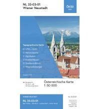 Wanderkarten Niederösterreich BEV-Karte 5201, Wiener Neustadt 1:50.000 BEV – Bundesamt für Eich- und Vermessungswesen