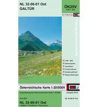 Wanderkarten Tirol BEV-Karte 2101-Ost, Galtür 1:25.000 BEV – Bundesamt für Eich- und Vermessungswesen