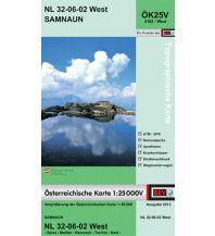 Wanderkarten Tirol BEV-Karte 2102-West, Samnaun 1:25.000 BEV – Bundesamt für Eich- und Vermessungswesen