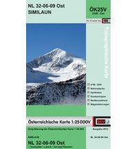 Wanderkarten Tirol BEV-Karte 2109-Ost, Similaun 1:25.000 BEV – Bundesamt für Eich- und Vermessungswesen