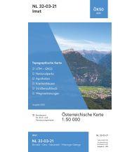 Wanderkarten Tirol BEV-Karte 2221, Imst 1:50.000 BEV – Bundesamt für Eich- und Vermessungswesen