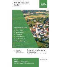 Wanderkarten Oberösterreich BEV-Karte 3323-Ost, Andorf 1:25.000 BEV – Bundesamt für Eich- und Vermessungswesen