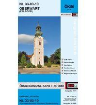 Wanderkarten Steiermark BEV-Karte 5219, Oberwart/Felsoor 1:50.000 BEV – Bundesamt für Eich- und Vermessungswesen