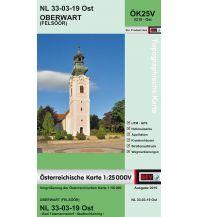 Wanderkarten Burgenland BEV-Karte 5219-Ost, Oberwart/Felsoor 1:25.000 BEV – Bundesamt für Eich- und Vermessungswesen
