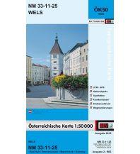 Wanderkarten Oberösterreich BEV-Karte 4325, Wels 1:50.000 BEV – Bundesamt für Eich- und Vermessungswesen