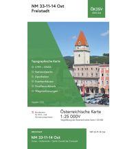 Wanderkarten Oberösterreich BEV-Karte 4314-Ost, Freistadt 1:25.000 BEV – Bundesamt für Eich- und Vermessungswesen
