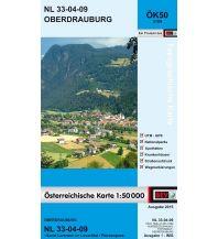 Wanderkarten Tirol BEV-Karte 3109, Oberdrauburg 1:50.000 BEV – Bundesamt für Eich- und Vermessungswesen