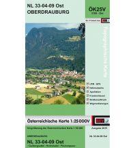 Wanderkarten Tirol BEV-Karte 3109-Ost, Oberdrauburg 1:25.000 BEV – Bundesamt für Eich- und Vermessungswesen