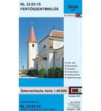 Wanderkarten Burgenland BEV-Karte 5215, Fertoszentmiklós 1:50.000 BEV – Bundesamt für Eich- und Vermessungswesen