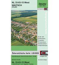 Wanderkarten Burgenland BEV-Karte 5215-West, Nikitsch/Filež BEV – Bundesamt für Eich- und Vermessungswesen