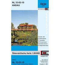 Wanderkarten Burgenland BEV-Karte 5210, Andau 1:50.000 BEV – Bundesamt für Eich- und Vermessungswesen